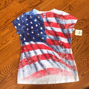 Adorable flag shirt